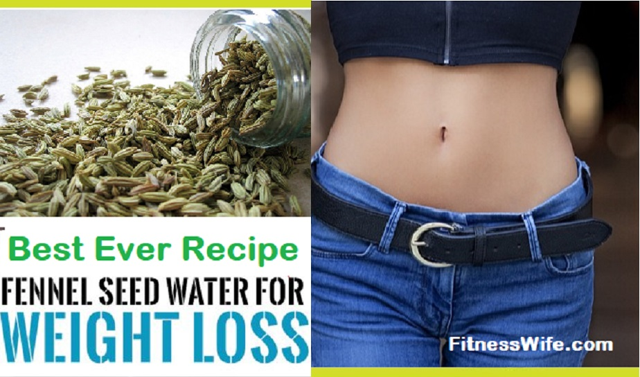 Best Ever Recipe to Make Fennel Seed Water for Weight Loss