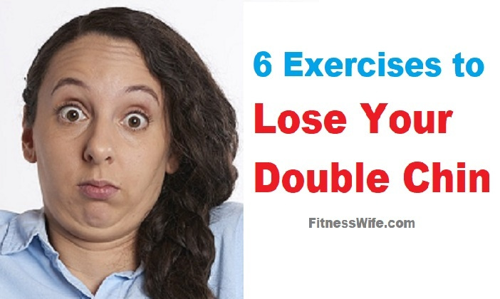 6 Exercises To Lose Your Double Chin #doublechin #workout