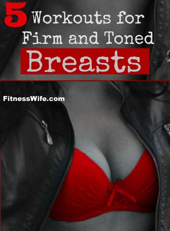 5 Breast Lifting Exercises You Can Easily Do At Home #workout #breastlift
