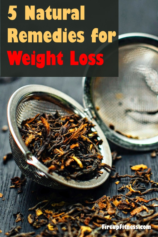5 Natural Remedies for Weight Loss