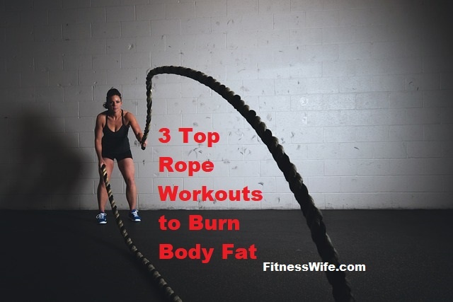 3 Best Rope Workouts to Burn Fat Faster #workout #fitness #weightloss
