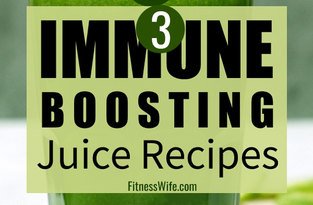 3 Immune Boosting Juice Recipes You can Make at Home